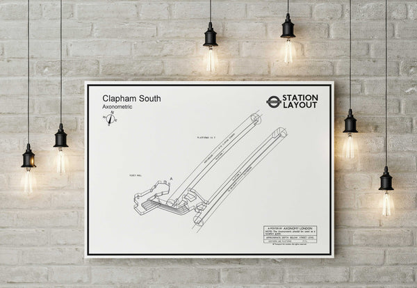 Clapham South Underground Station