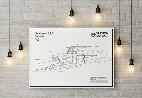Heathrow Underground Station