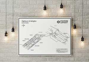 Highbury And Islington Underground Station