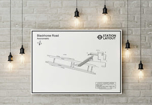 Blackhorse Road Underground Station