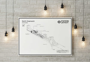 North Greenwich Underground Station