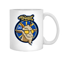 Curry GOAT 11 oz. White Mug