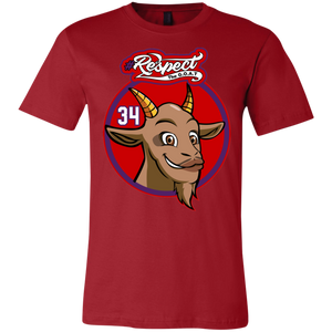 Barkley GOAT Bella + Canvas Unisex Jersey Short-Sleeve T-Shirt