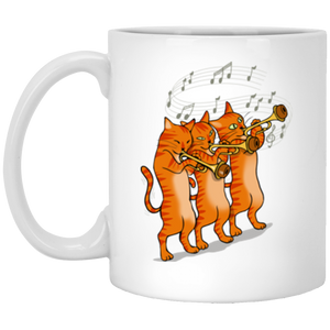 Cats Mug XP8434 11 oz. White Mug