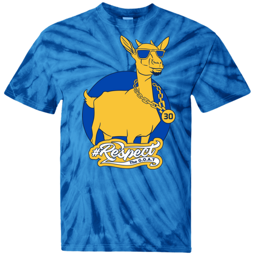 Curry GOAT 100% Cotton Tie Dye T-Shirt