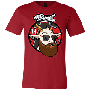 Fitzpatrick GOAT Bella + Canvas Unisex Jersey Short-Sleeve T-Shirt