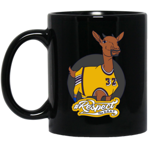 Johnson GOAT 11 oz. Black Mug