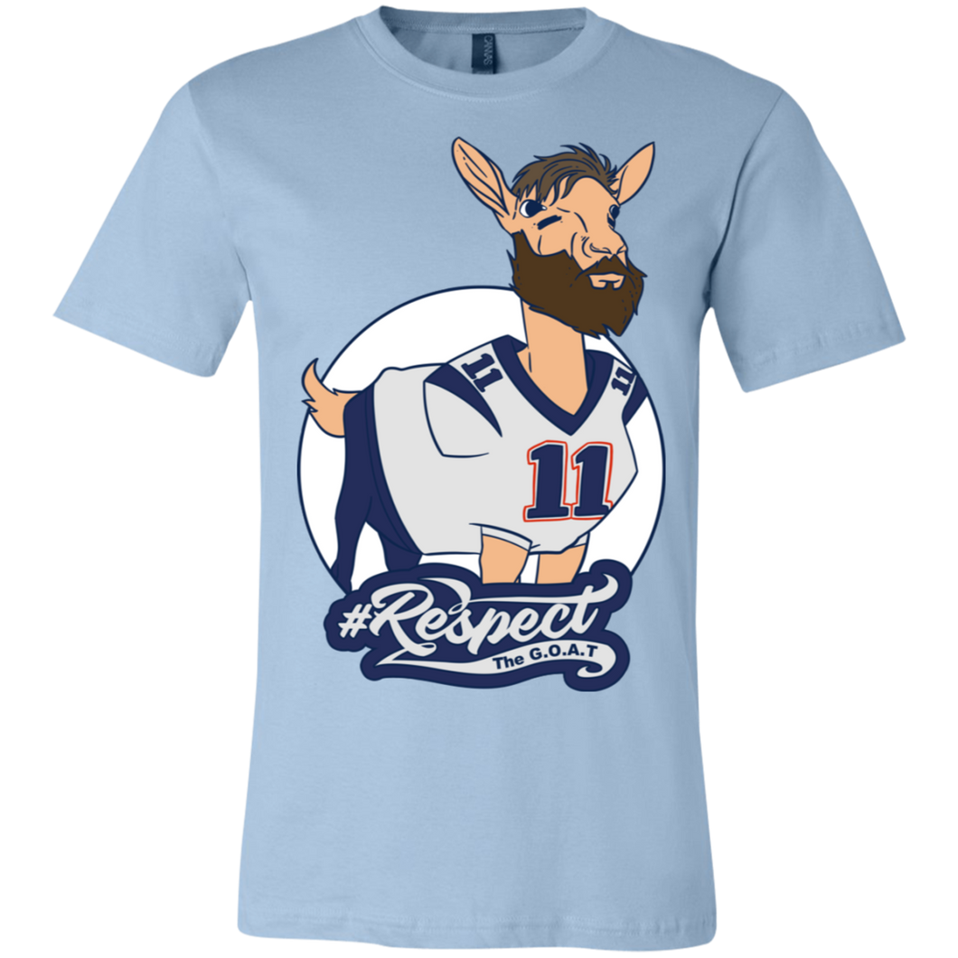 Edelman GOAT Bella + Canvas Unisex Jersey Short-Sleeve T-Shirt