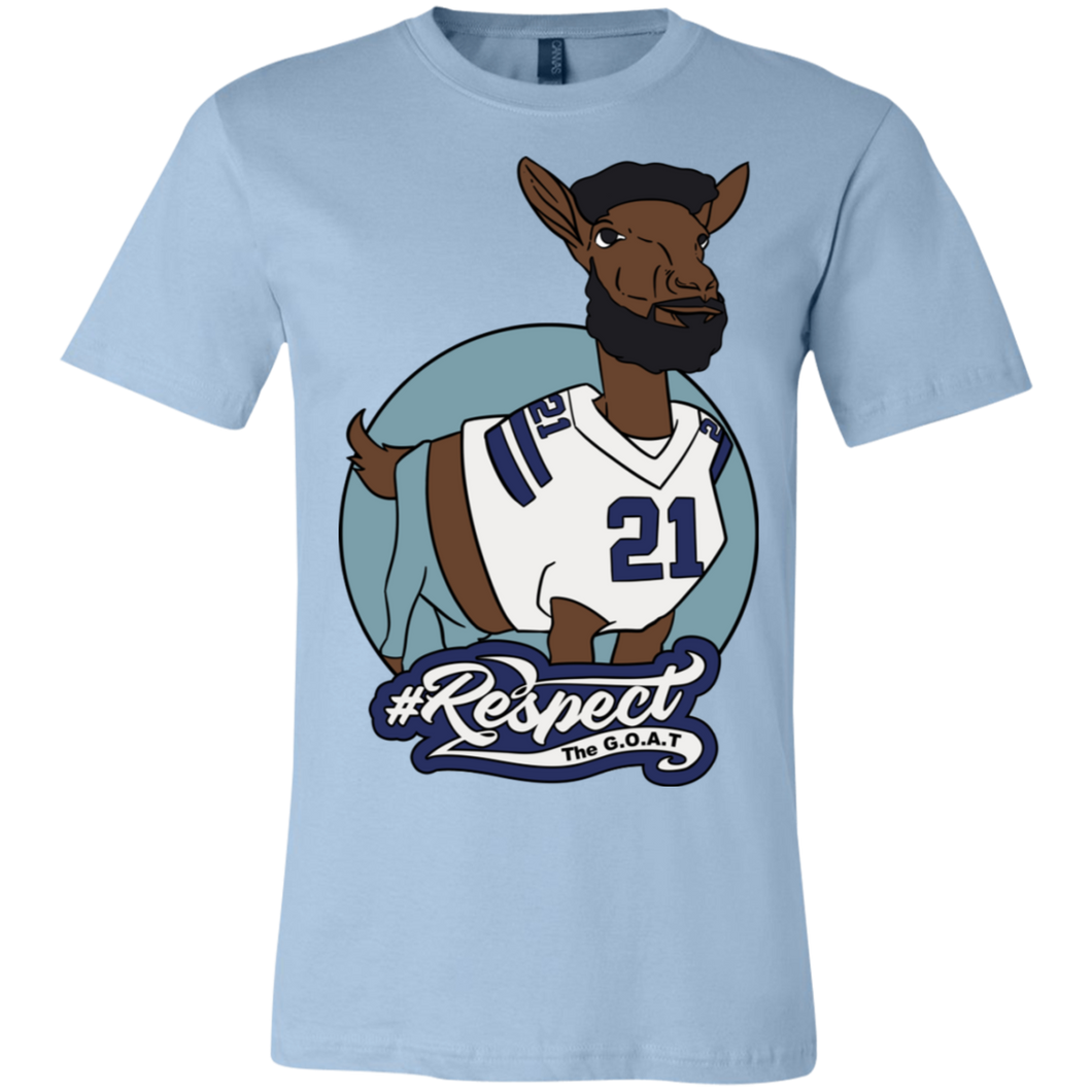 Elliott GOAT Bella + Canvas Unisex Jersey Short-Sleeve T-Shirt