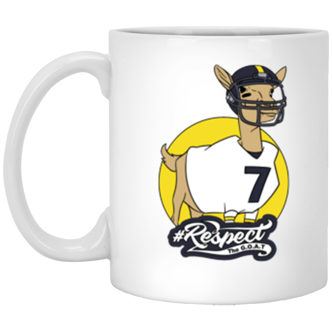 Big Ben GOAT 11 oz. White Mug