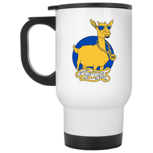 Curry GOAT White Travel Mug