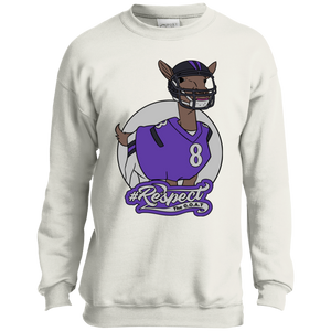 Jackson GOAT Port and Co. Youth Crewneck Sweatshirt