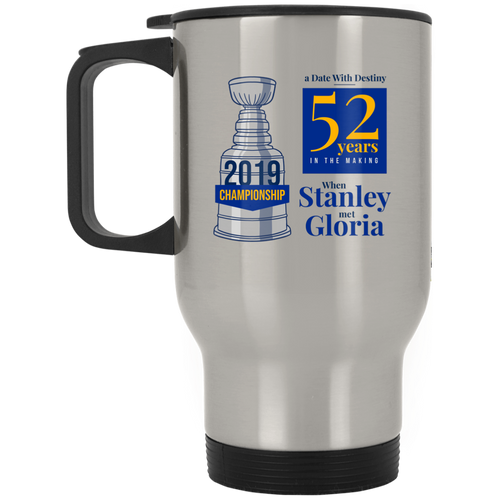 Binnington GOAT Silver Stainless Travel Mug