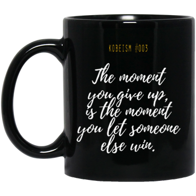 Kobeism #003  THE MOMENT 11 oz. Black Mug
