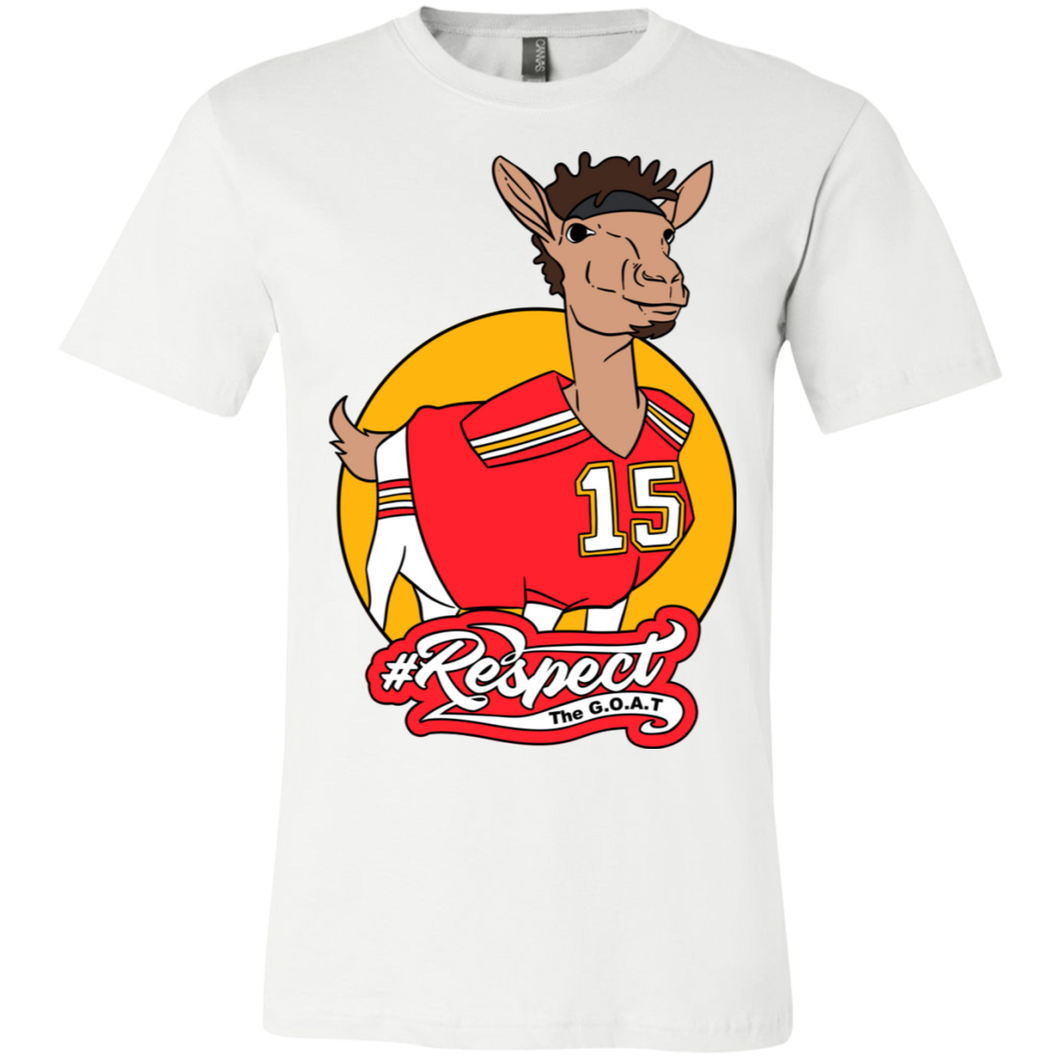 Mahomes GOAT Bella + Canvas Unisex Jersey Short-Sleeve T-Shirt