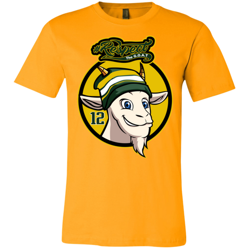 Rodgers GOAT Bella + Canvas Unisex Jersey Short-Sleeve T-Shirt