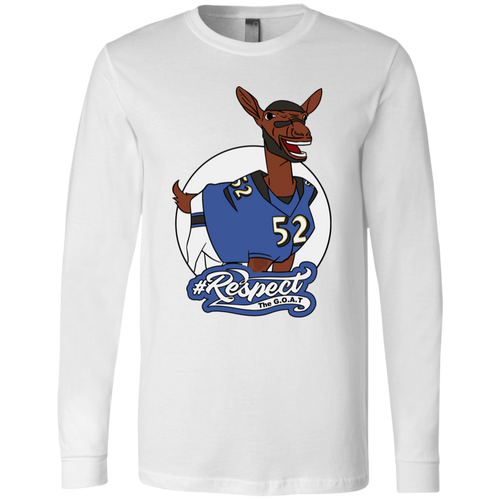 Lewis GOAT  Bella + Canvas Men's Jersey LS T-Shirt