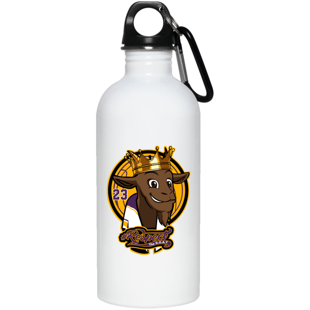 James 20 oz. Stainless Steel Water Bottle