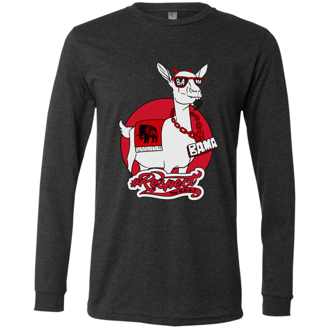 Bama GOAT Bella + Canvas Men's Jersey LS T-Shirt