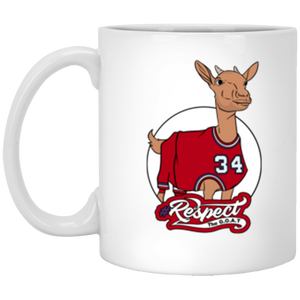 Barkley GOAT 11 oz. White Mug