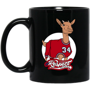 Barkley GOAT oz. Black Mug