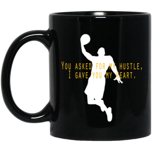 Kobeism 001 Dunk 11 oz. Black Mug