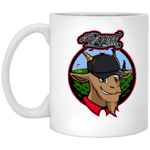 Tiger GOAT 11 oz. White Mug