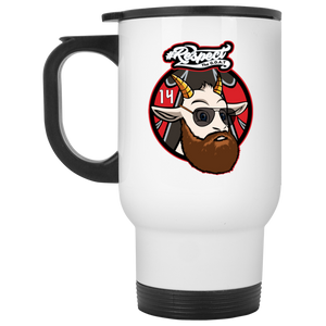 Fitzpatrick GOAT White Travel Mug