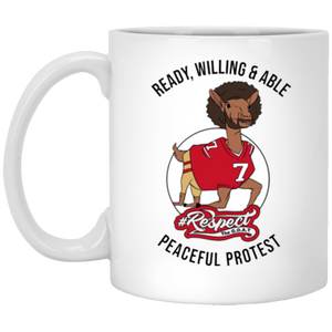 Colin GOAT 11 oz. White Mug