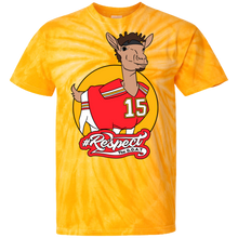 Mahomes GOAT 100% Cotton Tie Dye T-Shirt