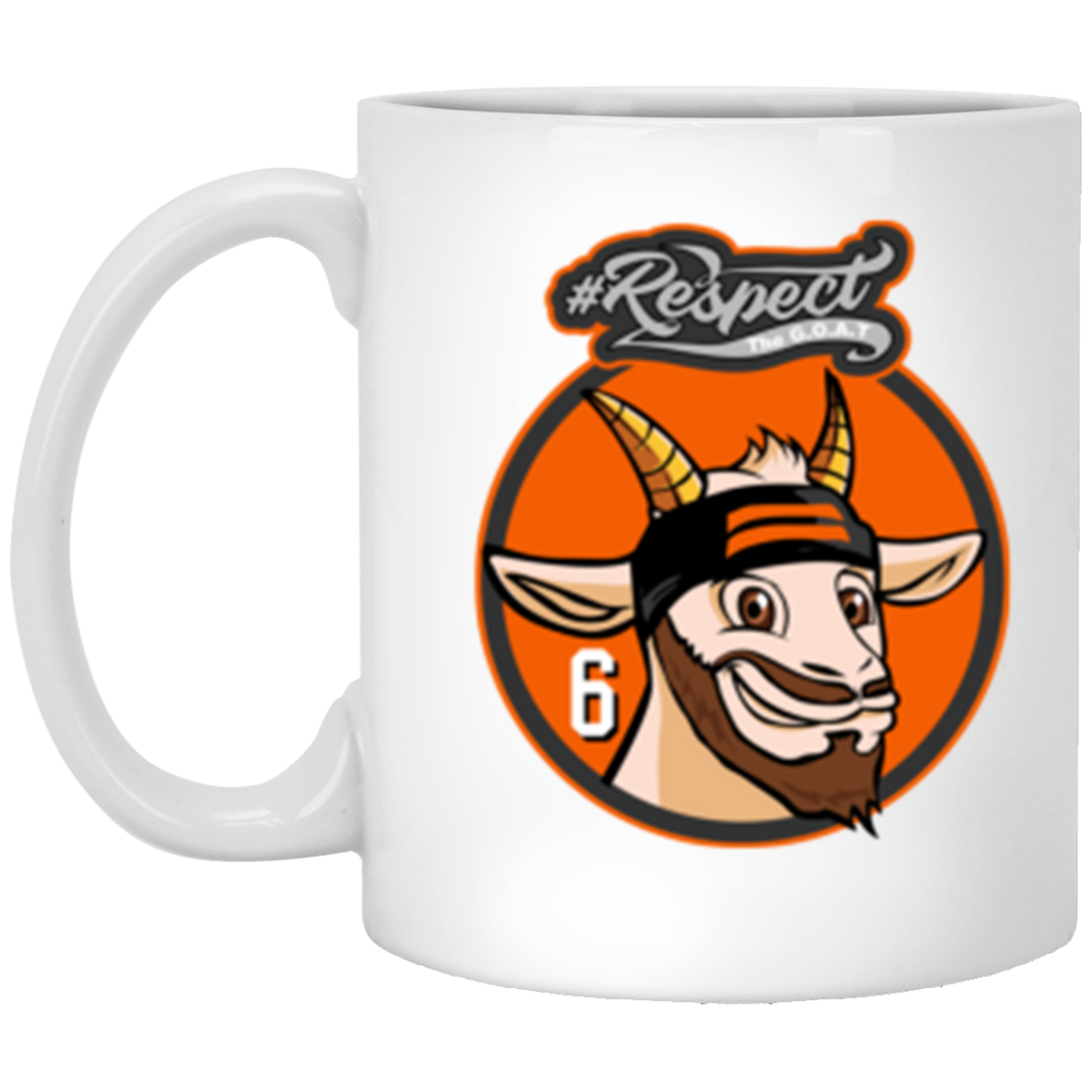 Mayfield GOAT 11 oz. White Mug