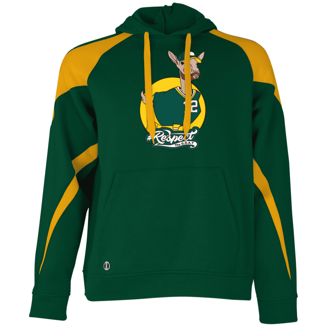 Rodgers GOAT Holloway Colorblock Hoodie