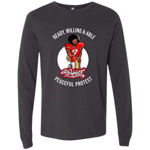 Colin GOAT Bella + Canvas Men's Jersey LS T-Shirt