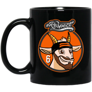 Mayfield GOAT 11 oz. Black Mug