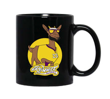 James GOAT 11 oz. Black Mug