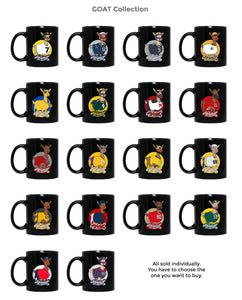 Rodgers GOAT oz. Black Mug