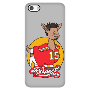 Mahomes GOAT phone case