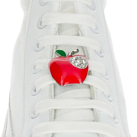 Apple Red Shoelace Charm
