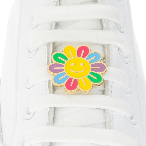 Happy Flower Shoelace Charm