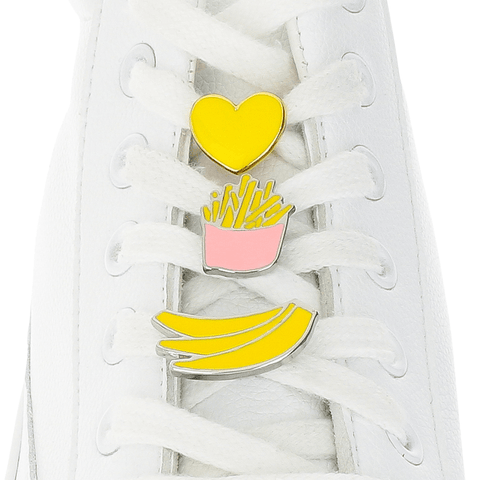 [Box] Yellow Box Shoelace Charms