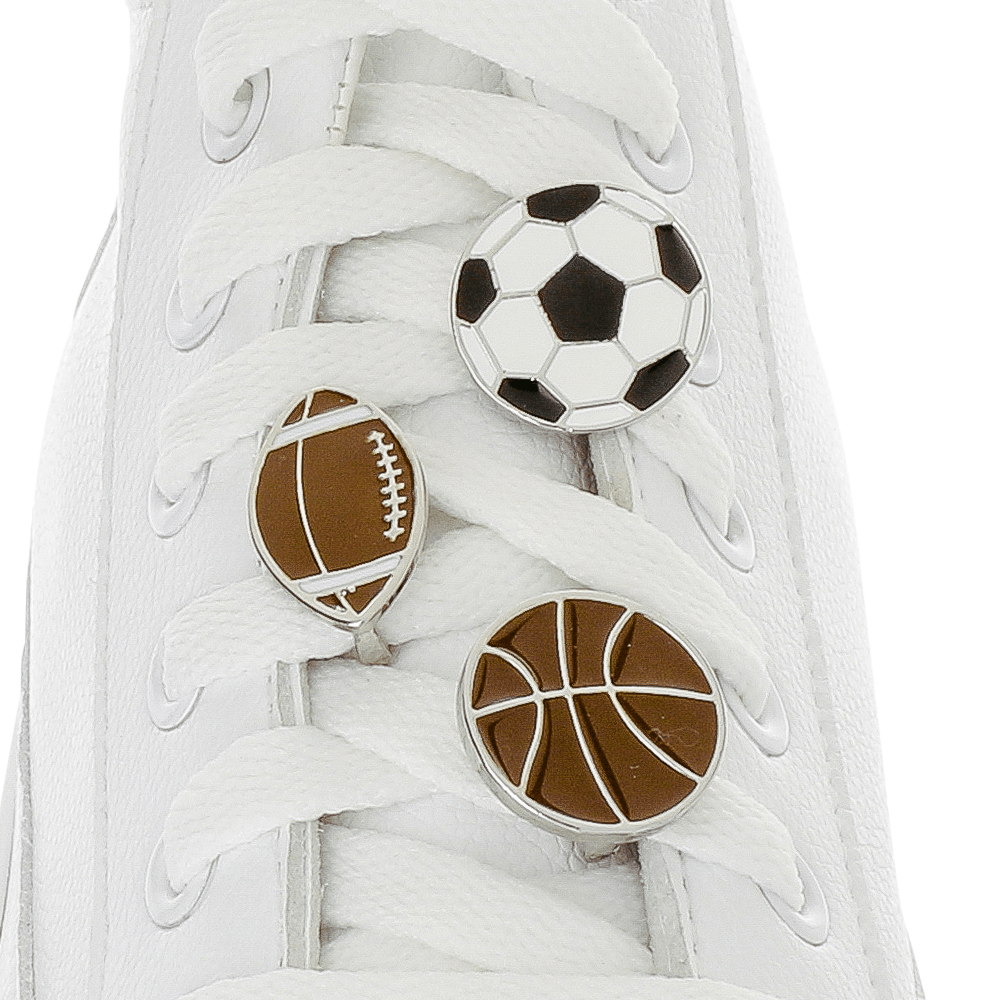 [Box] Sport Ball Box Shoelace Charms