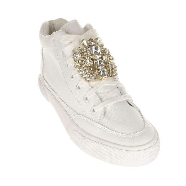 LARGE BAROQUE CRYSTALS Shoelace Charm by SLIDZ.COM