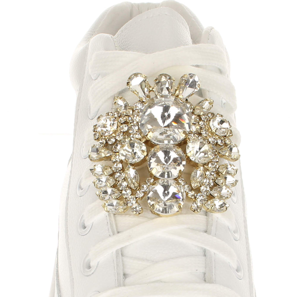 Large Baroque Crystals Shoelace Charm