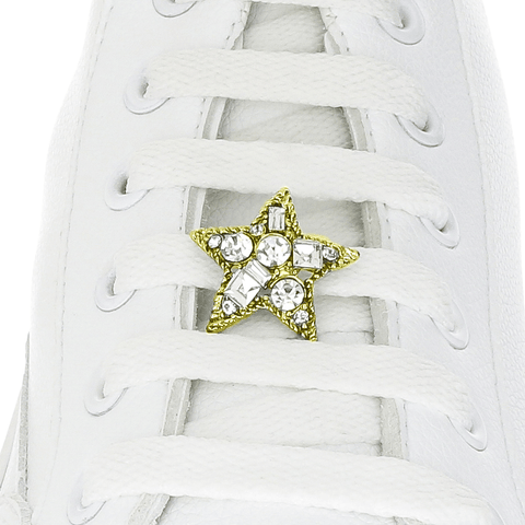 Crystal Star Shoelace Charm