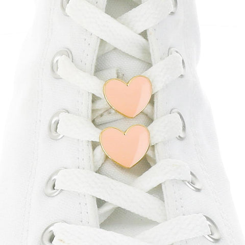 [Box] Pink Hearts Box Shoelace Charms