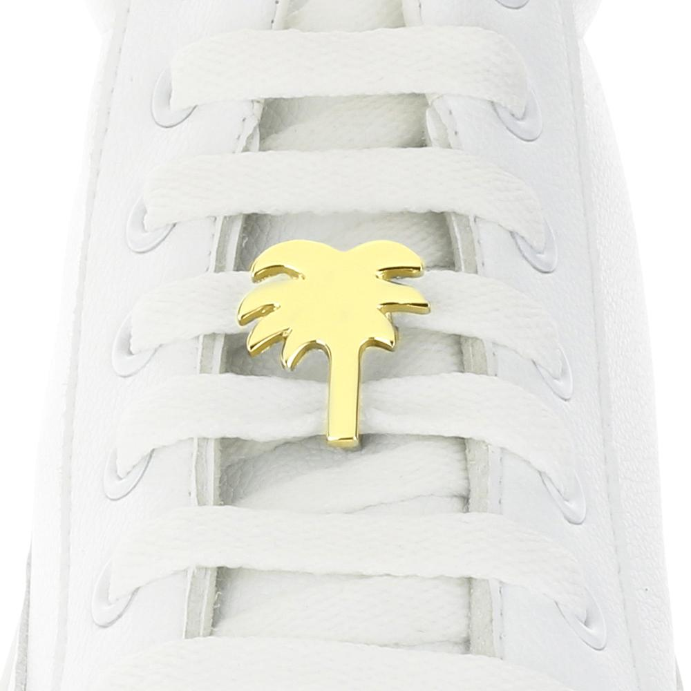 Palm Tree Gold Shoelace Charm