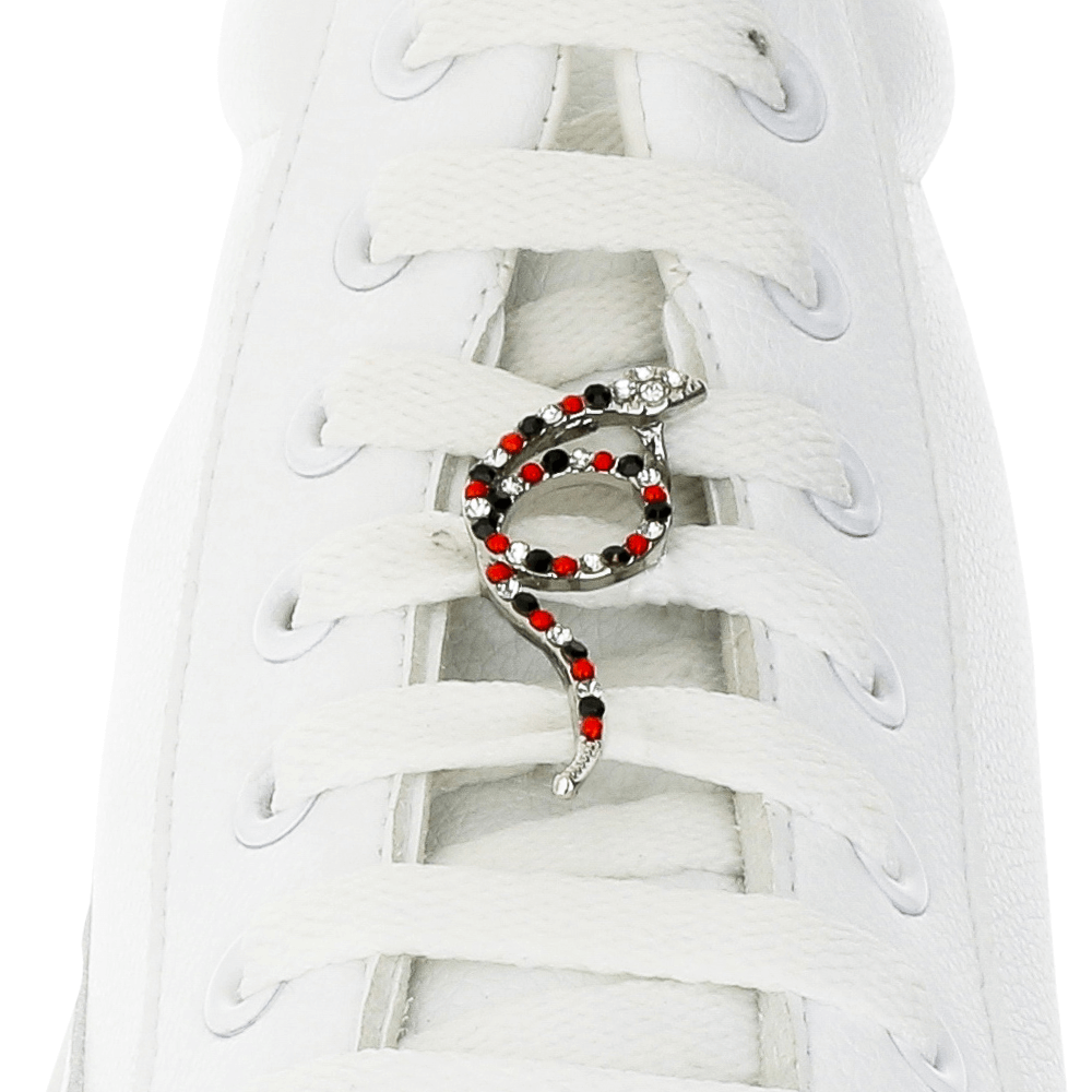 Dotted Snake Shoelace Charm