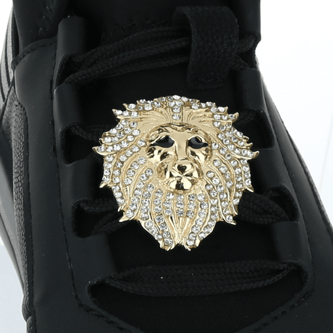 LION HEAD shoelace charm