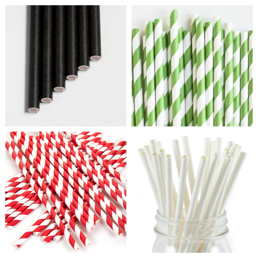 Paper Straws Sample Set