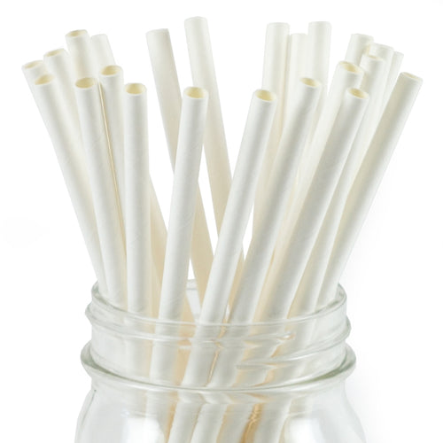 White Paper Straws Valow Wholesale Biodegradable Drinking Straws
